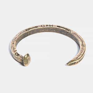 Railroad Spike Cuff (Gold)